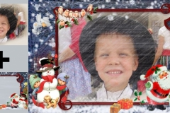 Create Christmas Photo Frames