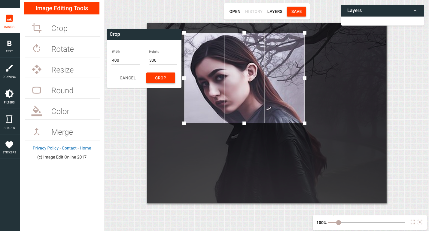 All the Basic Image Editing Tools on One Site